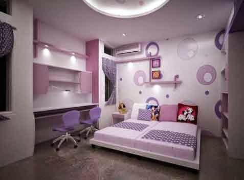 Contoh Wallpaper Kamar Tidur 1