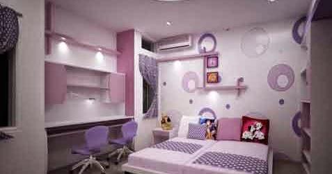 7 contoh motip wallpaper keren dinding kamar tidur blog