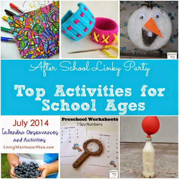 Top Activities for School Ages featured at The Educators' Spin On It