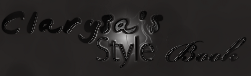 Clarysa&#39;s Style Book