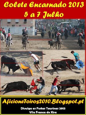 Programa da Feira do Colete Encarnado 5 a 7 Julho 2013 em Vila Franca de Xira