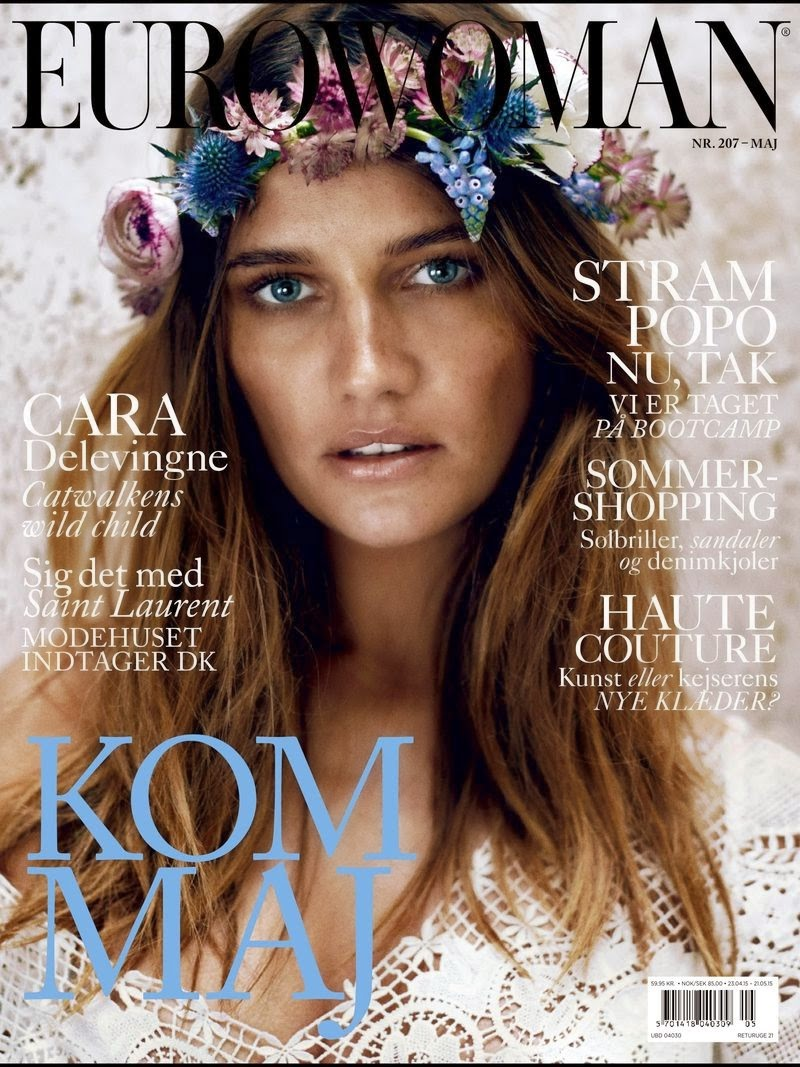 Model @ Maria Gregersen for Eurowoman Denmark, May 2015