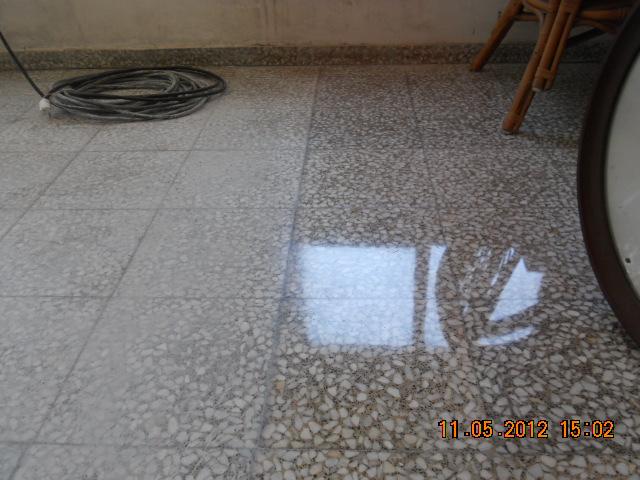 Pulidor de terrazo for Como sacar manchas del marmol