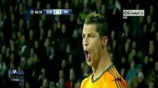 أهداف مباراة كوبنهاجن 0-2 ريال مدريد