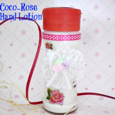 Coco-Rose Hand Lotion ~ Lovely Christmas / Mother's Day gift idea or DIY some for yourself and it smells and feels amazing ! #GiftIdea #DIYGifts www.withablast.net