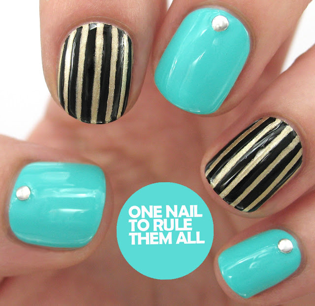 One Nail To Rule Them All Barry M Nail Art Pens Review: One Nail To Rule Them All: Digital Dozen Does Fashion: Day 5