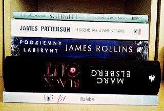 Książki na lipiec, Zostań fit, Blackout, Podziemny labirynt, Tajemnica Pani Ming, Terror na Manhattanie
