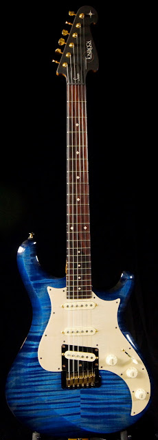 Knaggs Guitars Severn Ocean Blue
