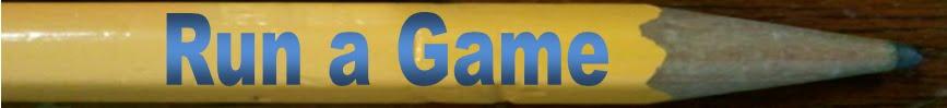 Run a Game