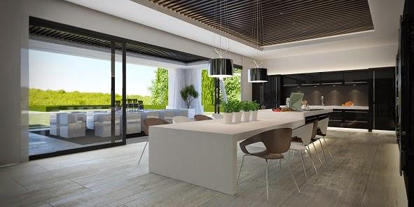 Casa de lujo en sotogrande costa del sol espa a arquitexs for Casa minimalista interior cocina
