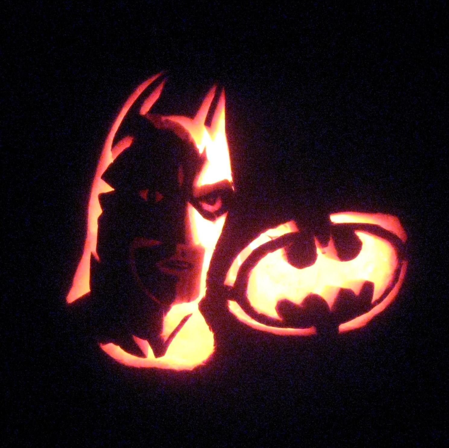 Cobo batman jack o lantern pumpkin