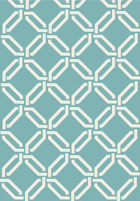 Lattice Wall Art by Isn't that Sew