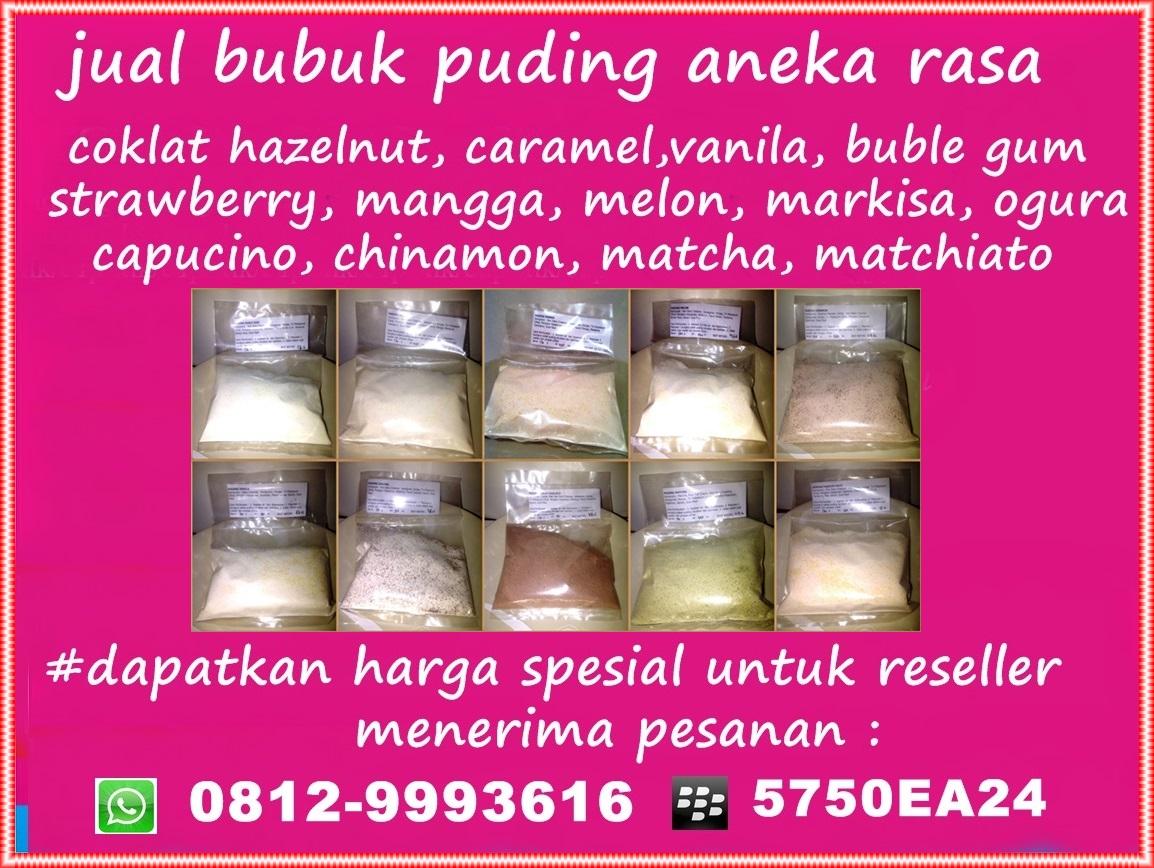 Distributor Bubuk Puding Jakarta