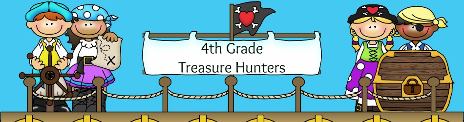 4th Grade Treasure Hunters