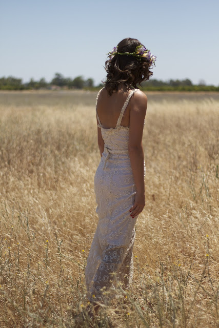 bohemian vintage wedding dresses