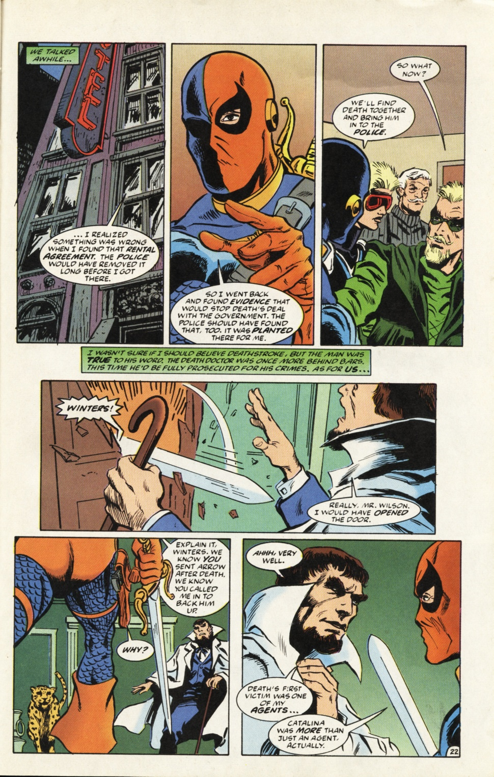 Deathstroke (1991) Issue #39 #44 - English 23