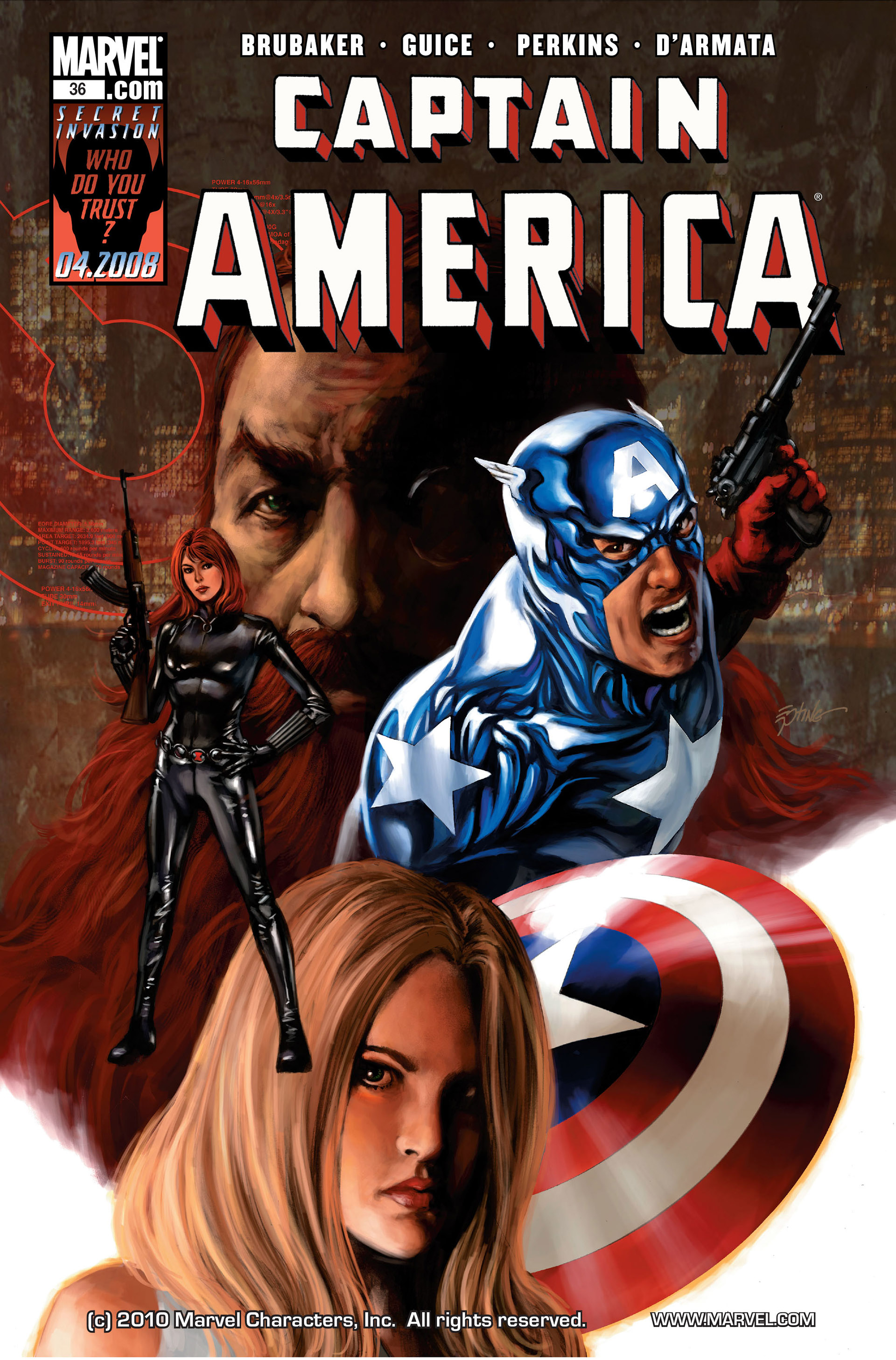 Captain America (2005) Issue #36 #36 - English 1