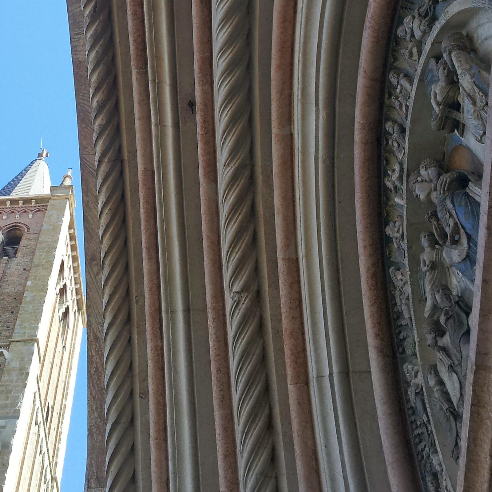Art Bonus Turismo - Foto di Alberto Cardino: Particolari Battistero e Cattedrale, Parma