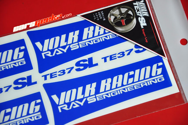 Volk Racing Rays Engineering TE37SL vinyl