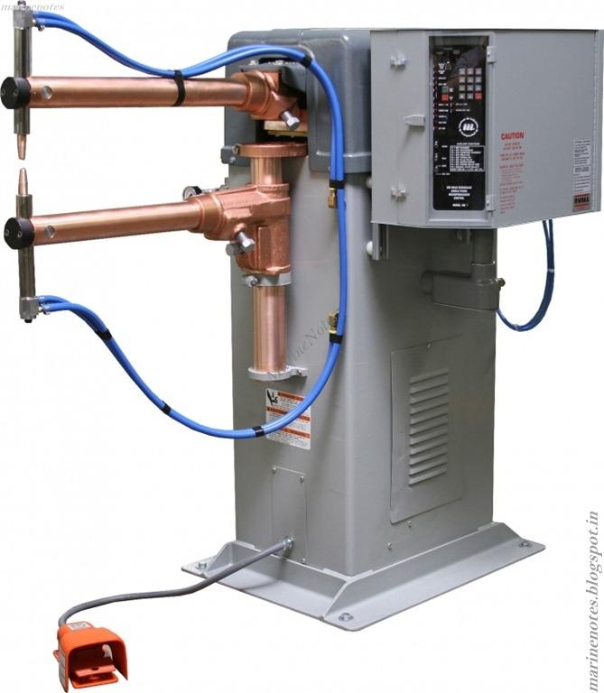 resistance spot welding machine