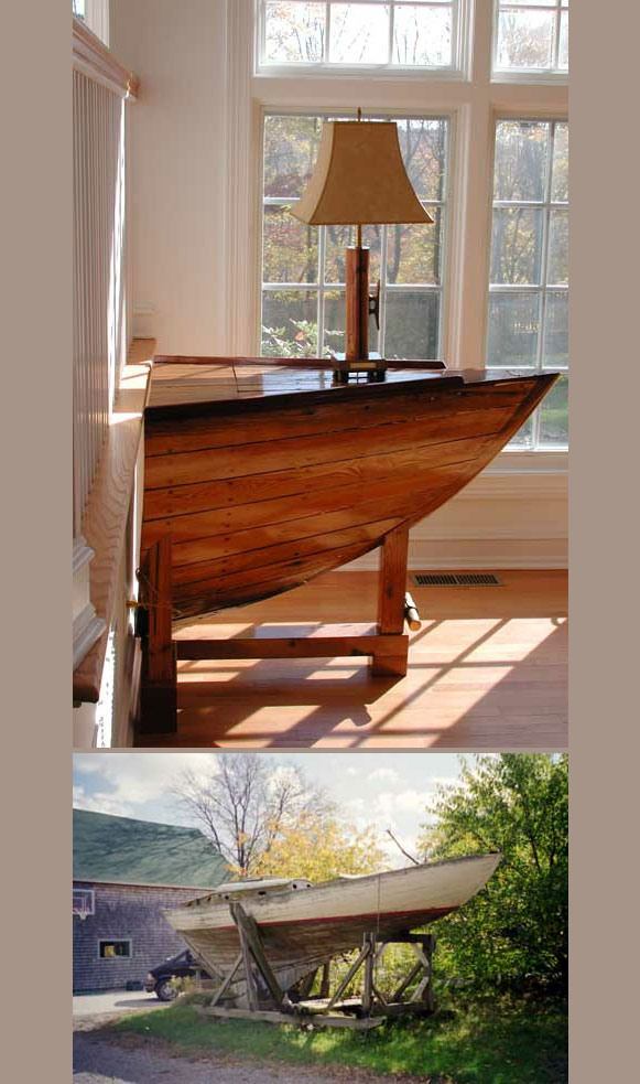 лодка в къщи