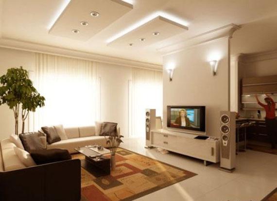 Modern Family Room Interior Design