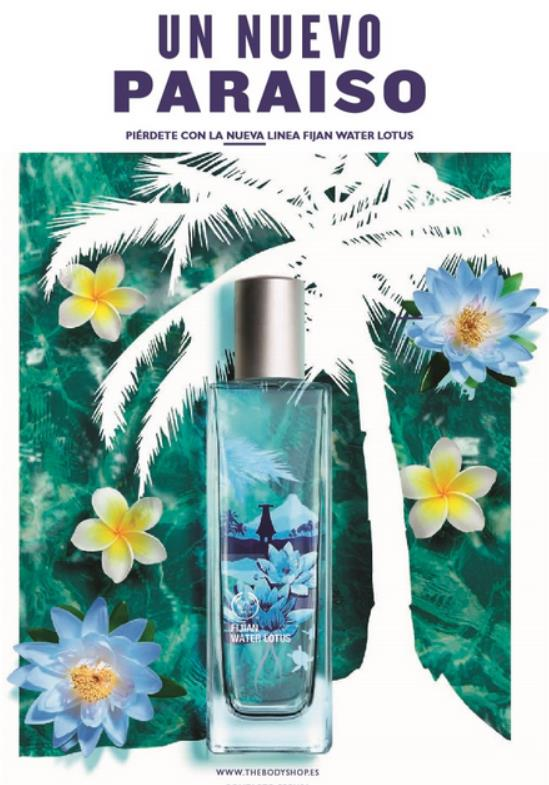 línea Fijian Water Lotus de The Body Shop