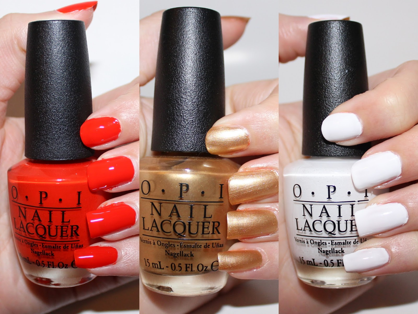 OPI Ford Mustang Collection Swatches