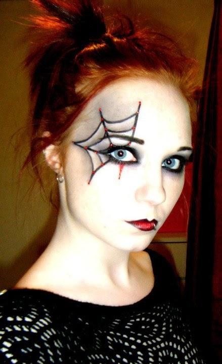 c mo maquillar los ojos en halloween