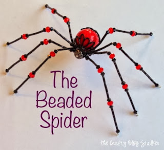 A Beaded Spider Tutorial