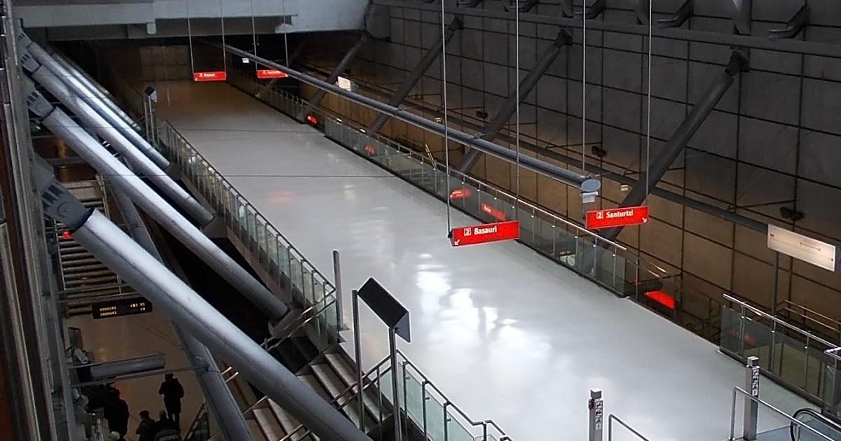 Barakaldo digital metro bilbao ofrece trenes cada diez for Horario oficina correos bilbao