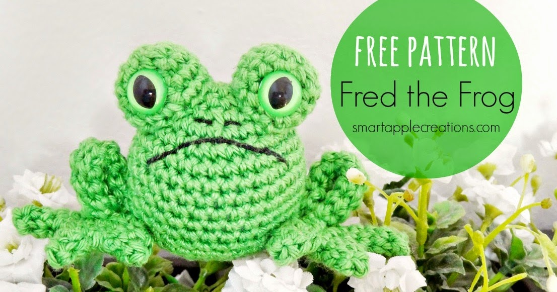 Free Amigurumi Crochet Frog Patterns : Smartapple Creations - amigurumi and crochet: Free pattern ...