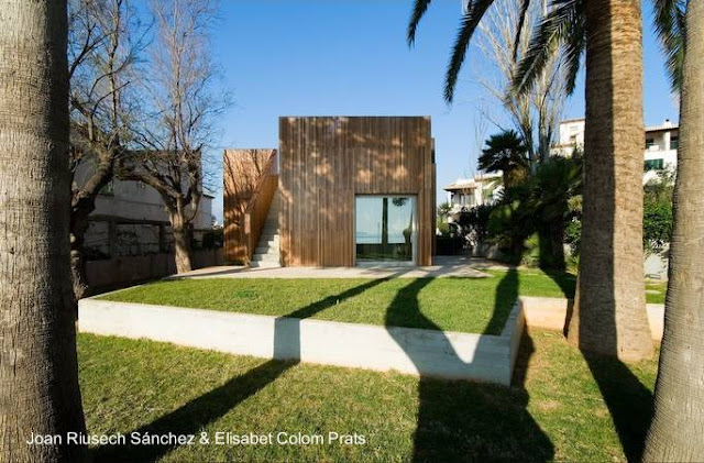 Residencia Minimalista en Mallorca, España