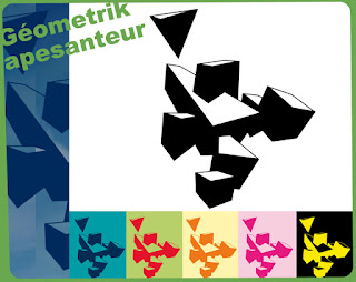 géométrik apesanteur géométrique tee-shirt t-shirt flex www.rueduteeshirt.com