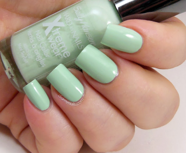 Sally Hansen Mint Sorbet swatch