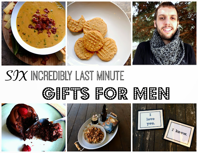 last minute quick and easy diy gifts for men