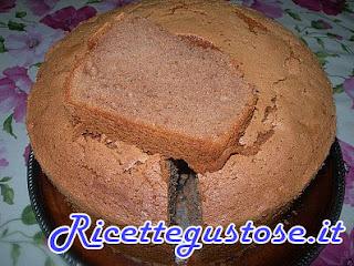 chiffon cake nutella e caffè , ricetta chiffon cake