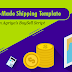 Ready-made shipping template option in Agriya's Etsy Clone