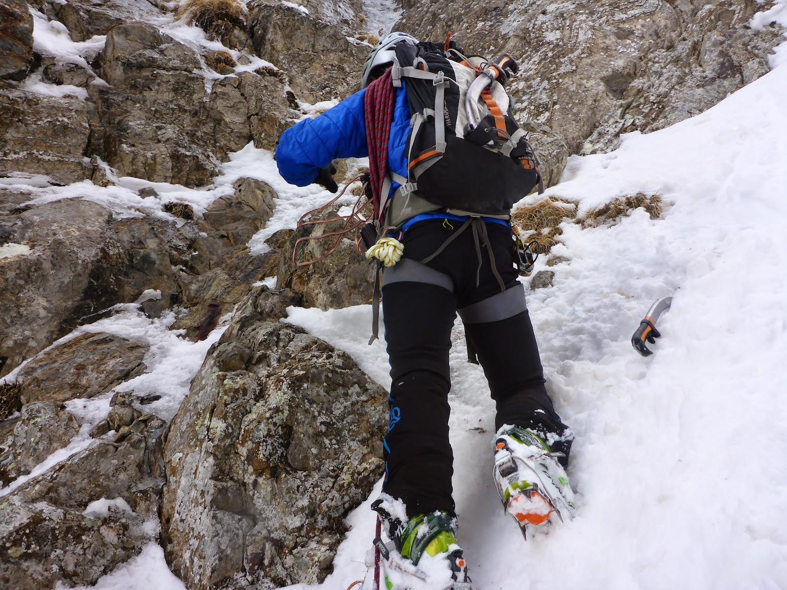 Pirineos-Bareges: Corredor NW al Pico Campana