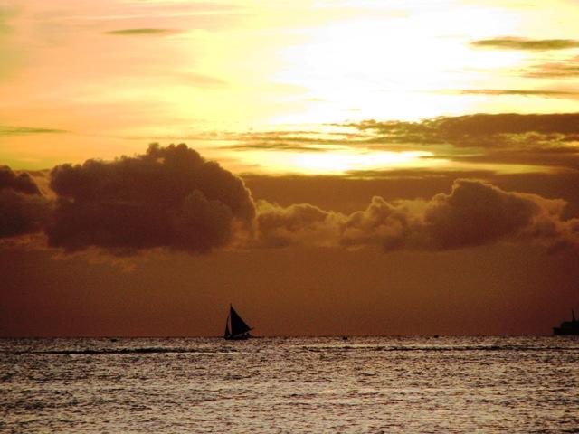 sunset at Boracay, Boracay island, Boracay sunset