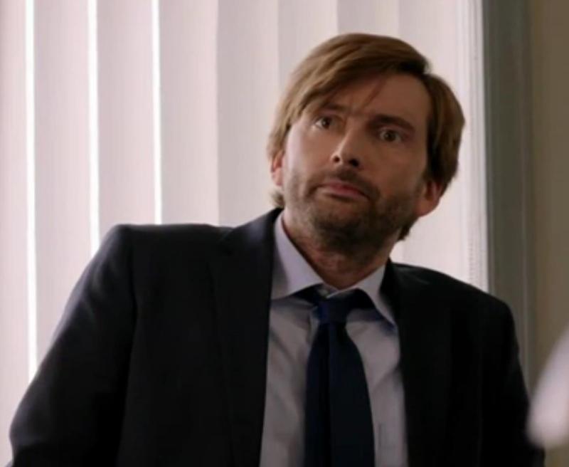 David Tennant in Gracepoint episode seven