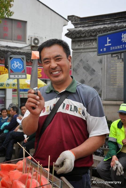 Watermelon guy, ShanTang Old Street Suzhou, China