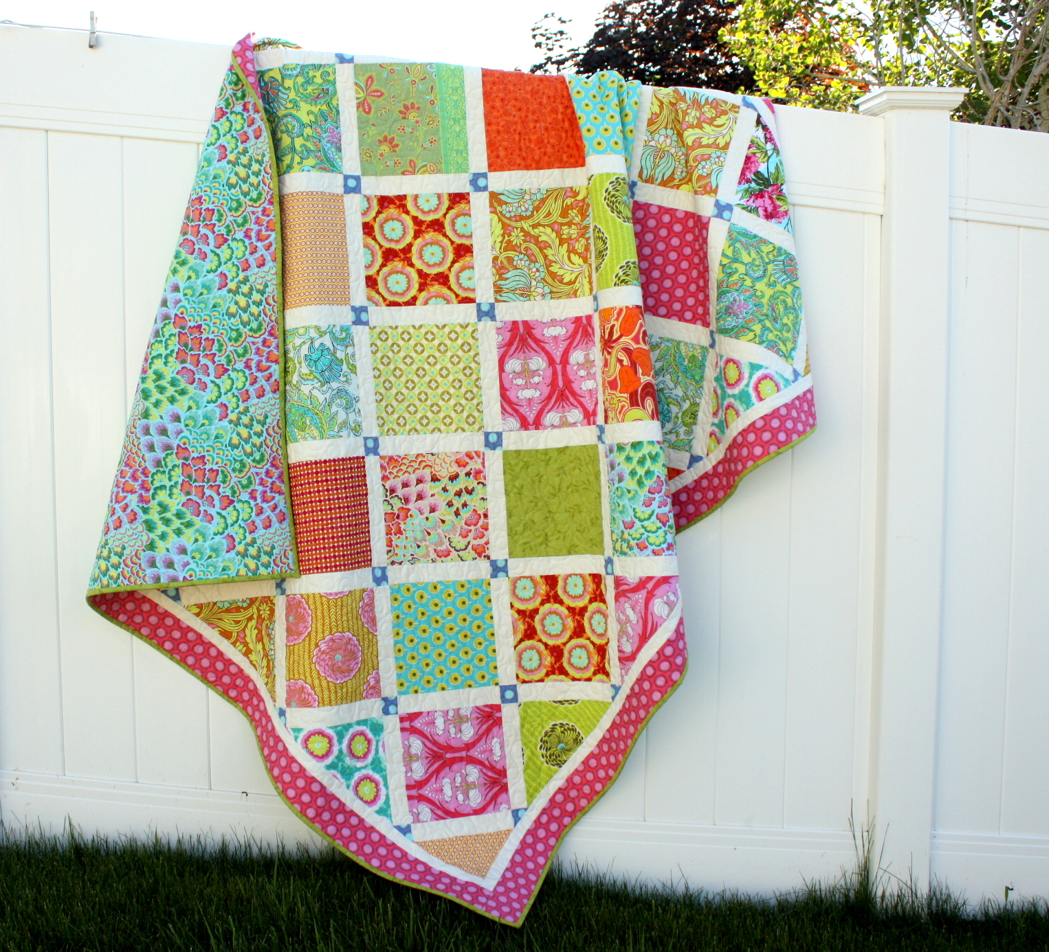 Soul Blossom Lattice Quilt Pattern Available Diary Of A Quilter