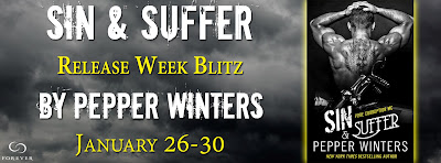 Blog Tour ~ Review: Sin & Suffer by Pepper Winters + Giveaway