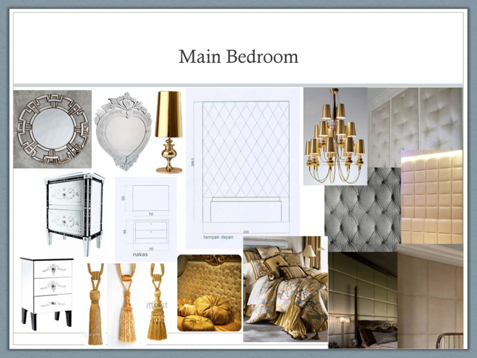 style decorating Residential Glamour Mood Board