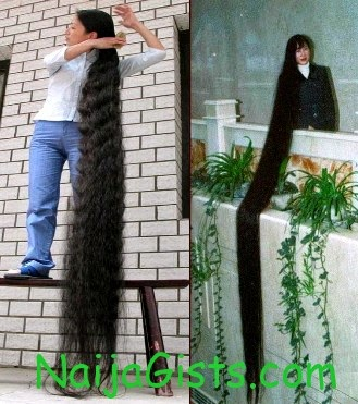 New Fashion Arrivals Un Blivable And Amazing Longest Hair Girls In