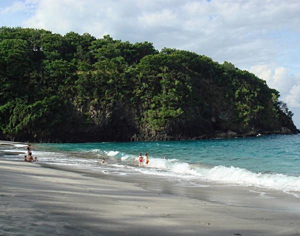 White Sand Beach Karangasem Bali Indonesia