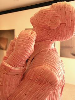 gum sculpture human