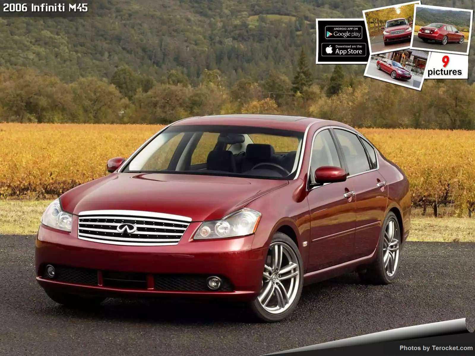 Hình ảnh xe ô tô Infiniti M45 2006 & nội ngoại thất