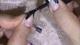 nokti-lakiranje-tutorijal-9-crno-beli-nail-art-dizajn-005